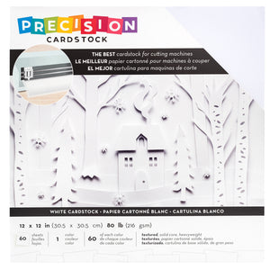 White Precision Cardstock 60-Pack