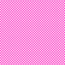 Load image into Gallery viewer, 12x12 patterned cardstock with hot pink gingham pattern on white - American Crafts