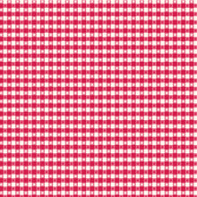 Load image into Gallery viewer, 12x12 patterned paper with red and white country gingham design - American Crafts