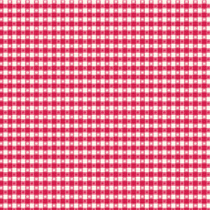 12x12 patterned paper with red and white country gingham design - American Crafts