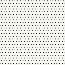 Load image into Gallery viewer, 12x12 patterned cardstock with black dots on white background