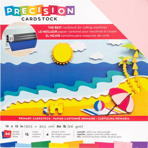 PRIMARY Smooth Precision Cardstock - Variety Pack