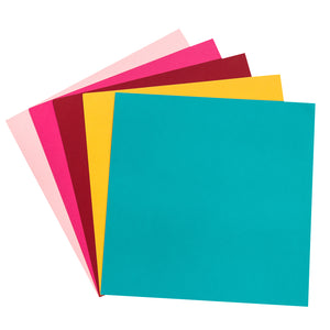 Primary Variety Pack contains 60 sheets of smooth 12x12 cardstock