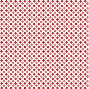 RED FLOWERS - 12x12 Double-Sided Patterned Cardstock