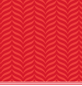 12x12 patterned cardstock with crimson-on-red modified chevron design - American Crafts