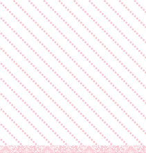 Load image into Gallery viewer, Diagonal pink dot reverse of Pink Damask 12x12 Cardstock from American Crafts