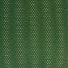 Load image into Gallery viewer, 12x12 patterned cardstock with white dots on green background