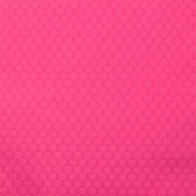 12x12 hot pink cardstock with large embossed dots - Recollections