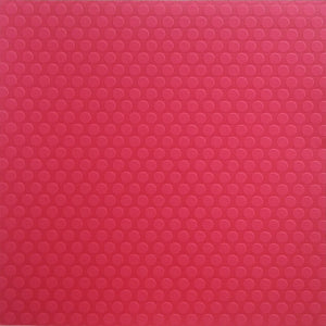 12x12 cardstock with red-on-red embossed dots - Recollection Signature