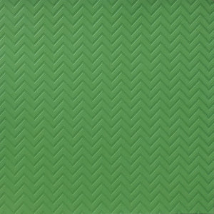 Green 12x12 cardstock with color-on-color zig zag pattern - Recollection Signature paper