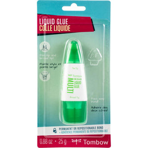 Tombow Liquid Glue permanent of repositionable bond