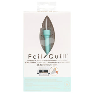 USB powered heat pen is Foil Quill tool designed by We R Memory Keepers for DIY foiling projects