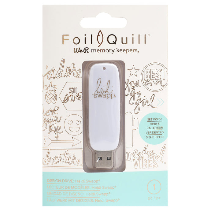 200 HEIDI SWAPP SVG files to work with your cutting machine using the Foil Quill™ heat-activated foiling system.