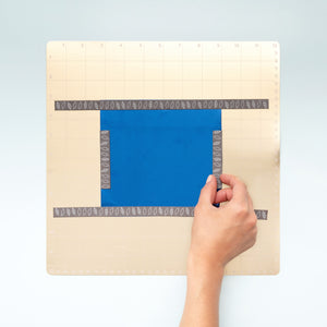 Foil Quill™ Magnetic Mat comes with 4 magnetic strips to hold foil in place.