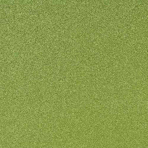 LEAF green 12x12 glitter cardstock from American Crafts