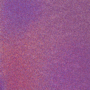 PURPLE NEON 12x12 glitter cardstock from American Crafts