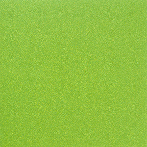 NEON GREEN 12x12 Glitter Cardstock from American Crafts