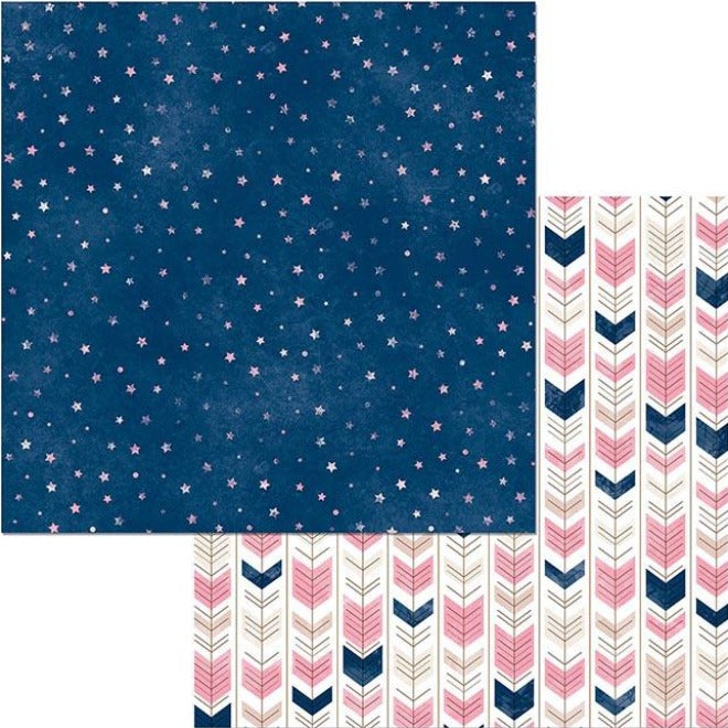 STARS & ARROWS - 12x12 Double-Sided Patterned Cardstock - BoBunny