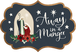 Logo for Away In A Manger Collection by Echo Park Paper Co.
