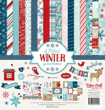 Load image into Gallery viewer, A PERFECT WINTER 12x12 Collection Kit from Echo Park Paper Co.
