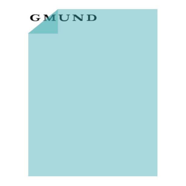 LIGHT BLUE translucent vellum by Gmund - 8½ by 11 inch sheets