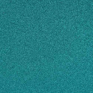 AQUA blue glitter cardstock from American Crafts - 12x12 inch sheets