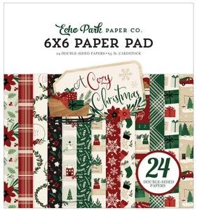 6x6 Pad Coordinates with A Cozy Christmas Collection by Echo Park Paper Co.