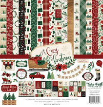 Load image into Gallery viewer, A Cozy Christmas Collection - paper crafting kit from Echo Park
