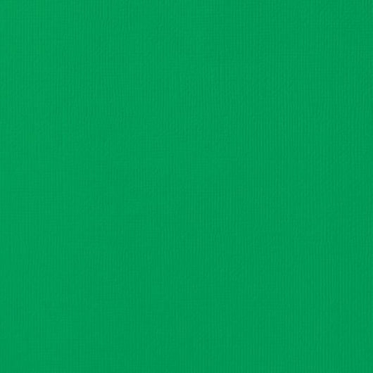 Emerald Color-12x12 inch-80 lb-textured cardstock-American Crafts