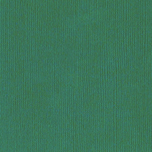 CLASSIC GREEN cardstock - 12x12 inch - 80 lb - textured scrapbook paper by Bazzill Basics Paper