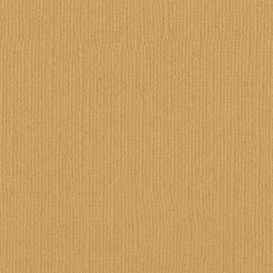 Bazzill Basics BEESWAX honey yellow cardstock - 12x12 inch- 80 lb - textured scrapbook paper
