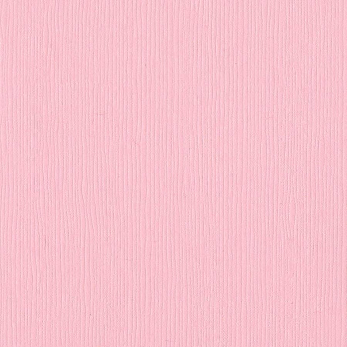 Bazzill Basics BERRY BLUSH light pink cardstock - 12x12 inch - 80 lb - textured scrapbook paper