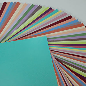 Bazzill Variety Pack includes 5 sheets each of 20 popular cardstock colors and textures - 100 sheets total