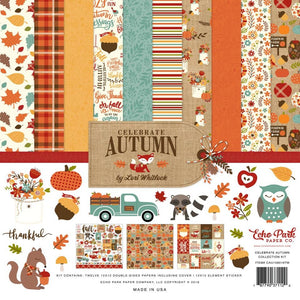 A PERFECT AUTUMN 12x12 Collection Kit by Echo Park Paper Co.