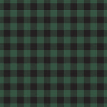 Load image into Gallery viewer, Reverse side - GREEN Buffalo Plaid 12x12 double-sided cardstock from Carta Bella