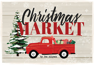 Christmas Market logo - a collection from Carta Bella Paper Co.