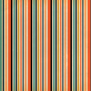 12x12 patterned cardstock with multiple stripes in Halloween colors