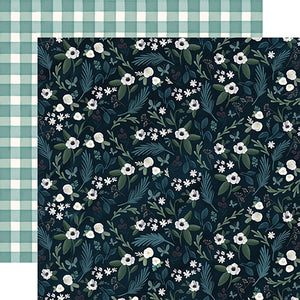 Home Floral - 12x12 double-sided cardstock from Home Again Collection by Carta Bella Paper Co.