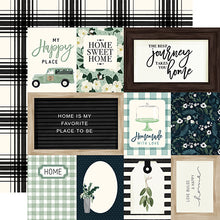 Load image into Gallery viewer, Journaling Cards - 12x12 double-sided cardstock from Home Again Collection by Carta Bella Paper Co.