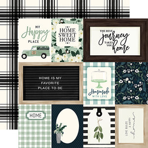 Journaling Cards - 12x12 double-sided cardstock from Home Again Collection by Carta Bella Paper Co.