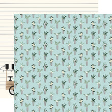 Load image into Gallery viewer, Vases - 12x12 double-sided cardstock from Home Again Collection by Carta Bella Paper Co.