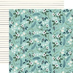 Lovely Floral - 12x12 double-sided cardstock from Home Again Collection by Carta Bella Paper Co.