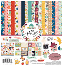 Load image into Gallery viewer, OUR HOUSE 12x12 Cardstock Collection Kit from Carta Bella Paper Co.