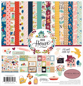 OUR HOUSE 12x12 Cardstock Collection Kit from Carta Bella Paper Co.
