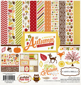 A PERFECT AUTUMN 12x12 Collection Kit from Echo Park Paper Co.