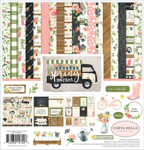SPRING MARKET 12x12 Page Collection Kit by Carta Bella Paper Co.
