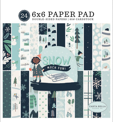6x6 Paper Pad from Snow Much Fun Collection Kit by Carta Bella Paper Co.