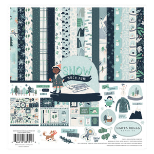 Snow Much Fun Collection Kit from Carta Bella Paper Co.