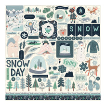 Load image into Gallery viewer, Element Stickers included in Snow Much Fun Collection Kit