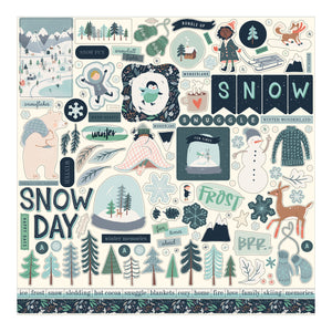 Element Stickers included in Snow Much Fun Collection Kit